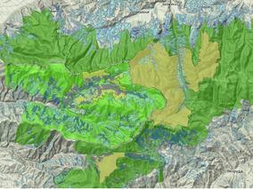 Вижте къде са старите гори и защитените територии в България
