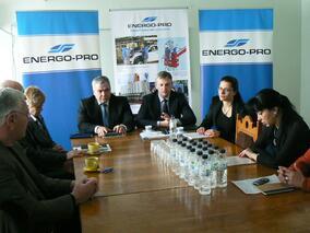 Управителят на ЕНЕРГО-ПРО се срещна с кметовете на общини от област Русе