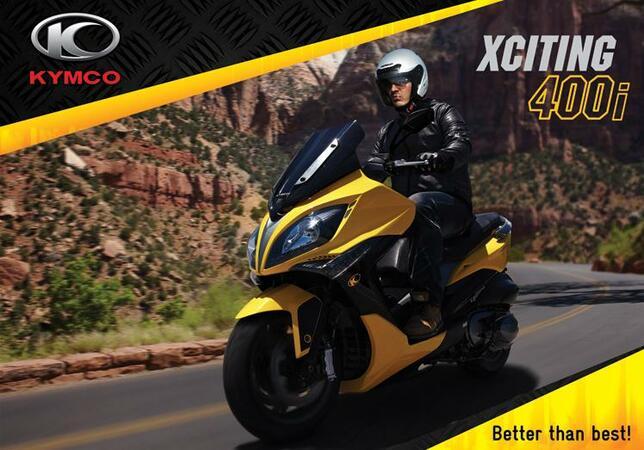 """Тайванската компания за скутери """"KYMCO"""" с официален изложбен център в България"""