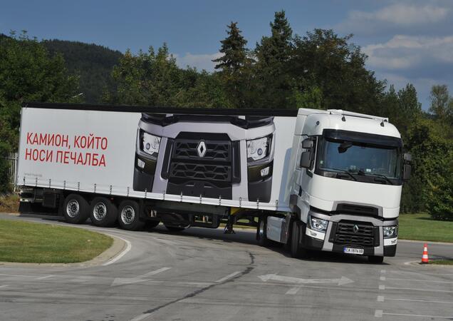 Даниел Василев от Варна е новият шампион по ефективно шофиране на Renault Trucks