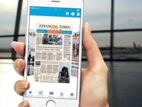 Приложението KLM Media замества вестниците на борда