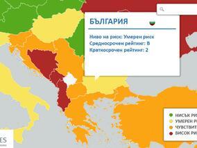 Euler Hermes запази рейтинга на България на ниво B2 – умерен риск