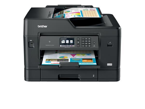 Новите А3 модели от серията InkBenefit Professional на Brother осигуряват изгоден цветен печат на бизнесa