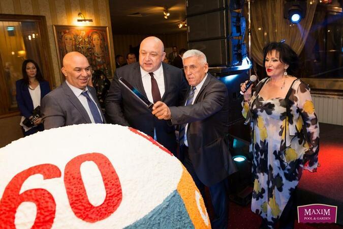 Шампиони от няколко поколения поляха юбилея на тотото в ресторант Мaxim