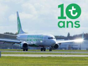 Transavia France - 20 милиона пътници за 10 години